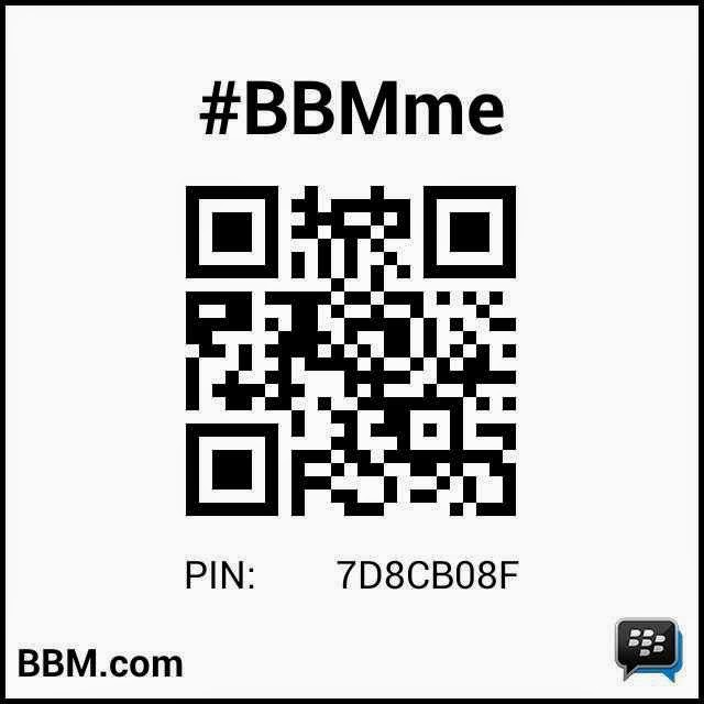 add pin bb saya ya