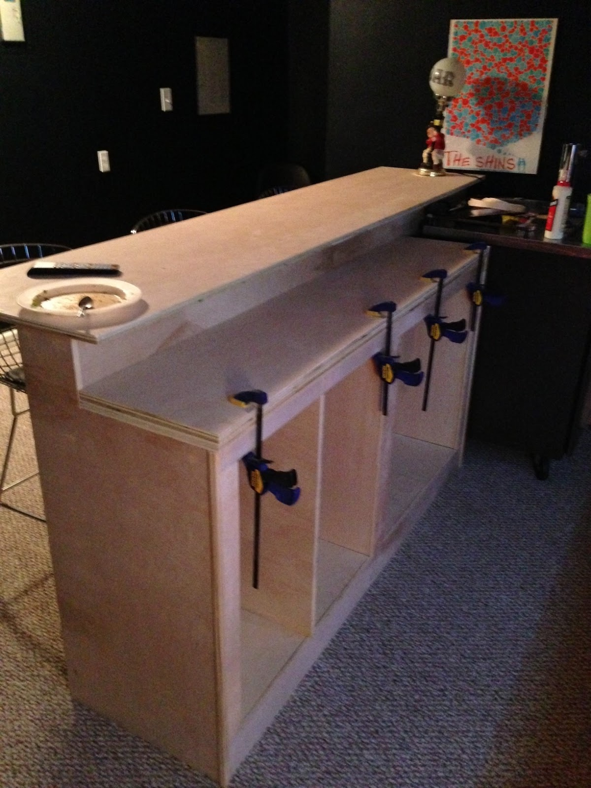 Back To The Trees Basement Bar - Bar kits for basement