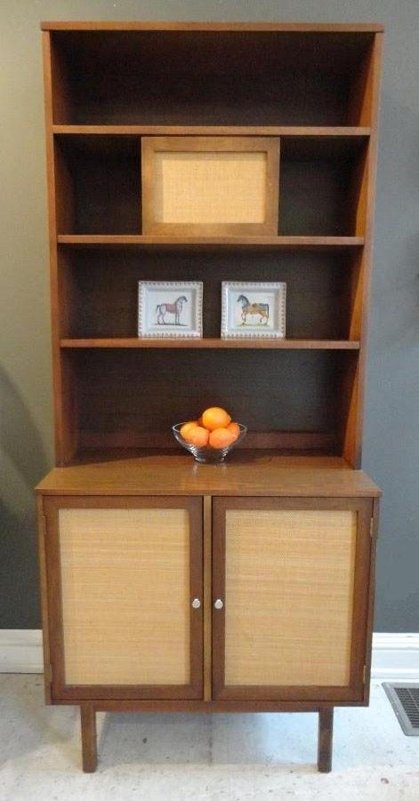 "MICHAEL THOMAS : ""Bassett Furniture Co."" Cabinet"