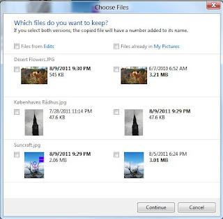 В Windows 8 будет улучшено управление файлами