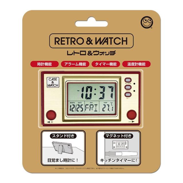 La hora en el frigorífico con 'estilo Game&Watch'