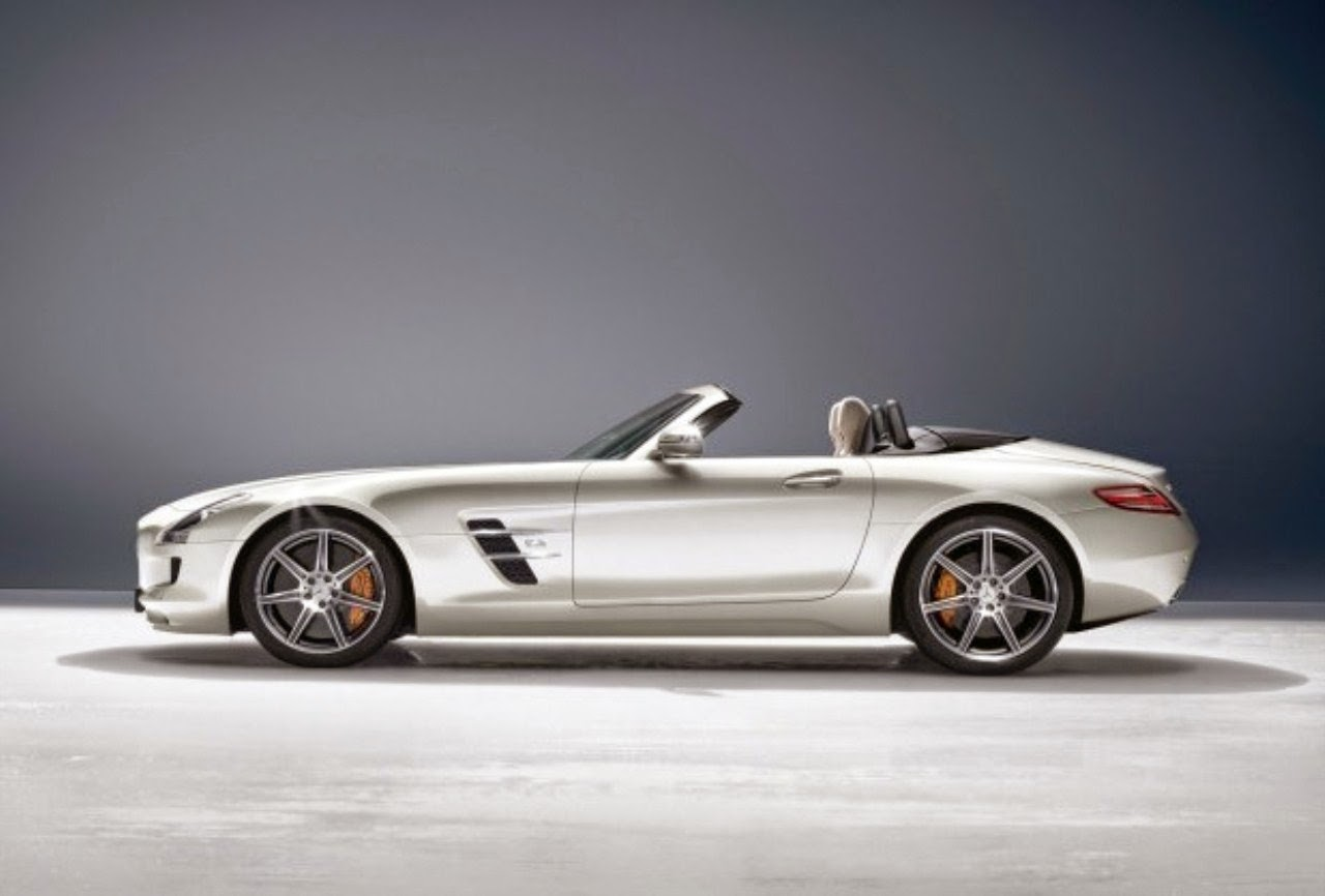 Mercedes benz sls amg e cell roadster wallpapers for Mercedes benz sl amg price