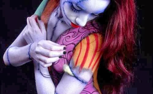 Body paint para Halloween
