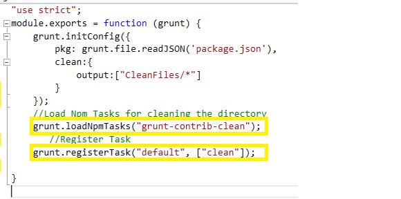 how to create custom grunt task
