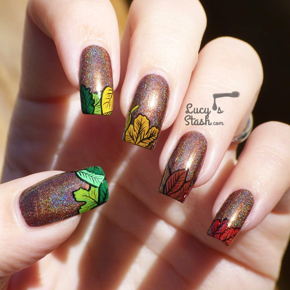 Autumn Nail Design 1