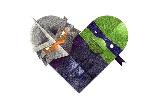 Versus/Hearts by Dan Matutina - 'ol Metalhead & the Mutated Turtle