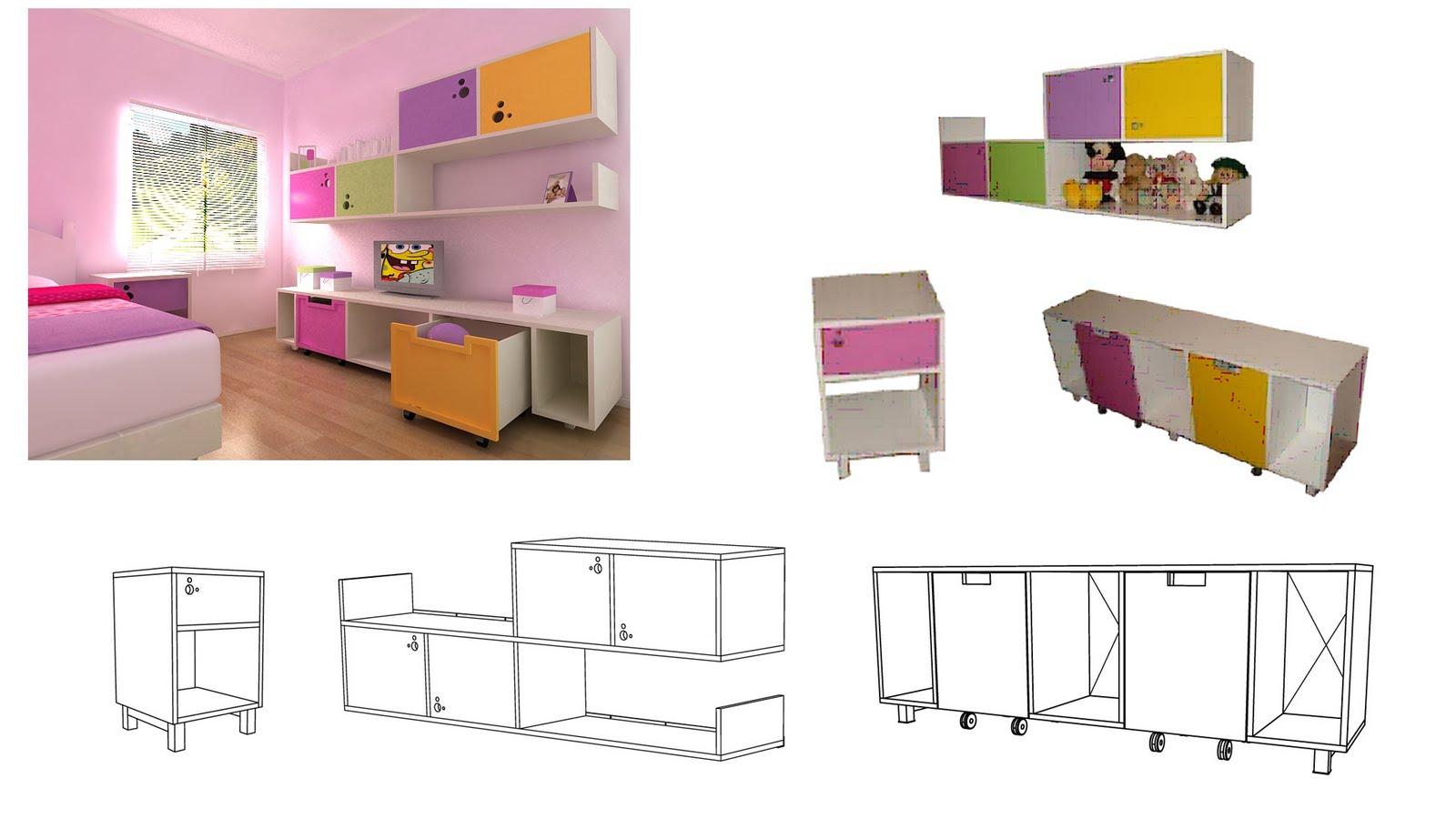Portafolio muebles infantiles for Mueble organizador infantil