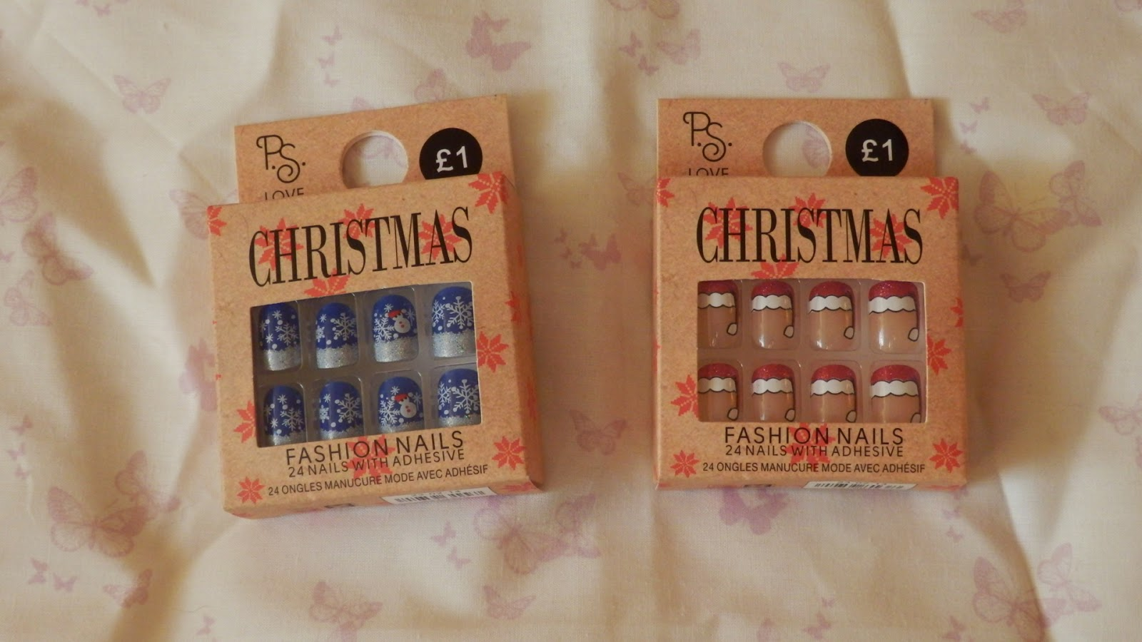 Primark Haul Christmas False Nails