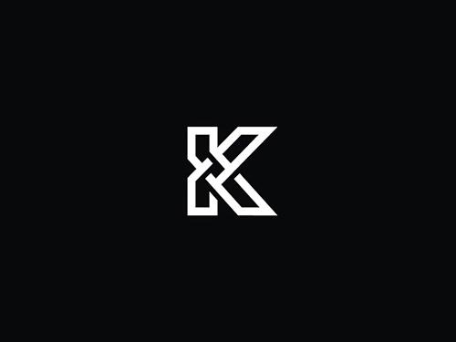 Overlapping technique Logo K