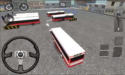 Otobüs Parketme Apk Android Oyunu resimi 1