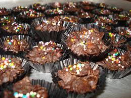 kue coklat cornflake