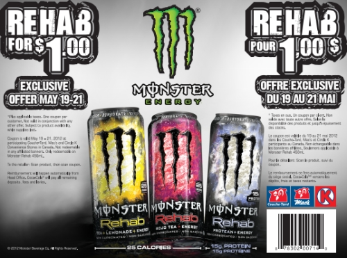 Monster energy drink coupons printable 2018