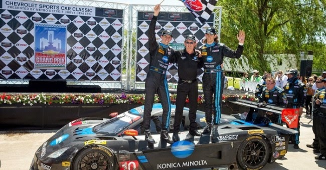 Team Chevy & Taylor Brothers Win TUDOR United Sportscar Race at Belle Isle