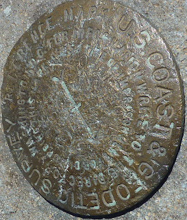 Mount Rose U.S. Coast & Geodetic Survey Reference Mark