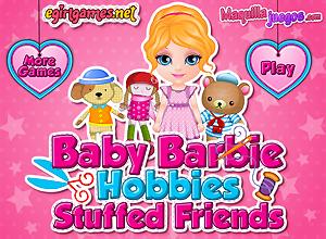 Los peluches de Baby Barbie