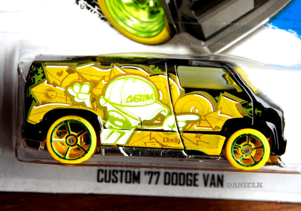 apeng speedcuber treasure hunt hotwheels 2013 ke 9 custom 39 77 dodge van. Black Bedroom Furniture Sets. Home Design Ideas
