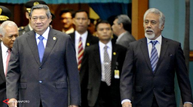 Masalah tapal batas, Xanana sudah temui SBY