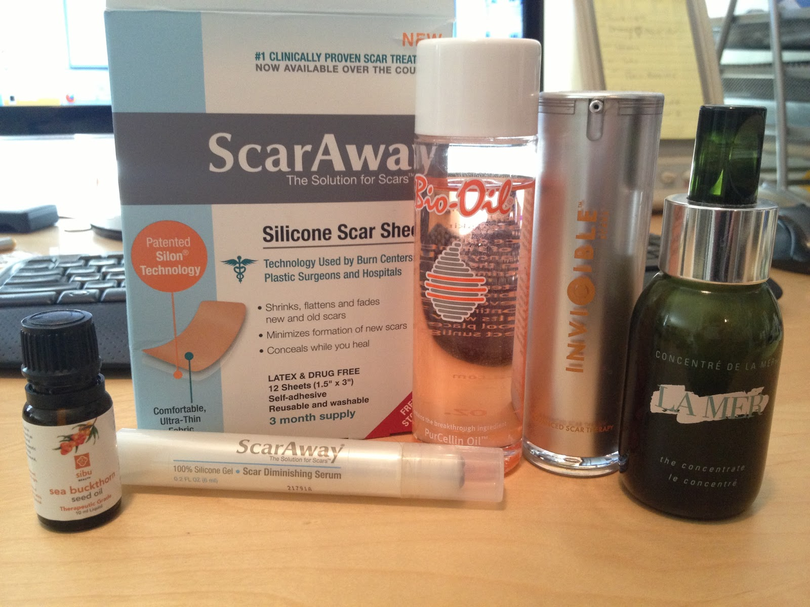 The Metro Perspective: Scar treatt reviews- Bio Oil, ScarAway ...