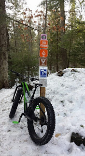 Fyxation Blackhawk on the Noquemanon Trail Network (NTN) in Marquette, MI