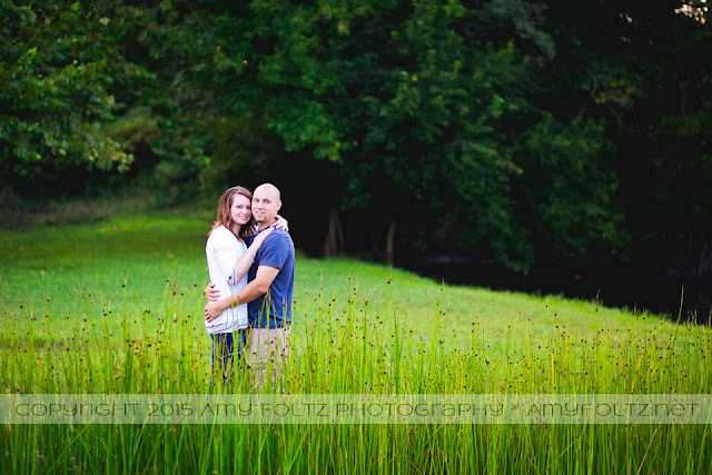 engagement session near Terre Haute, Indiana