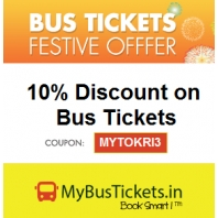 Mybustickets : Bus Tickets Booking at Flat 10% Discount :BuyToEarn