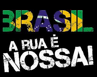 No Brasil é assim: tudo pode ser adiado, menos o pagamento das dívidas externa e interna, DRY Brasil, Deemocracia Real Já Brasil, Não somos mercadorias nas mãos de políticos e banqueiros