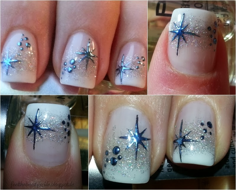 nageldesign winter 2015 - Winterliches Nageldesign Winter Nail Art