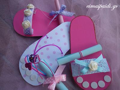 flip flop card-bebe
