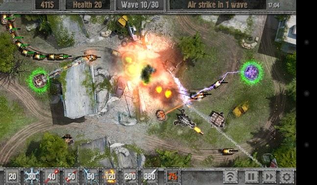 Defense zone 2 HD android apk - Screenshoot