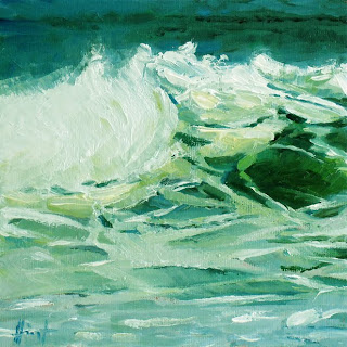 Roaring Wave by Liza Hirst