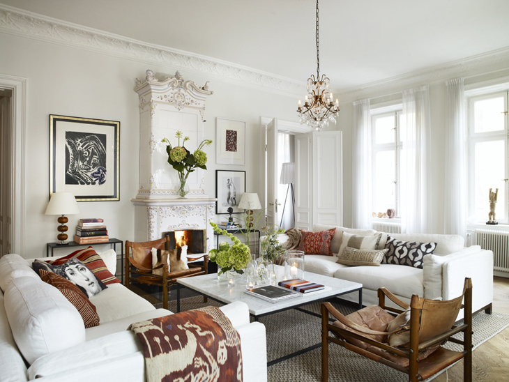 design attractor: Mid Century Eclectic Luxury Home