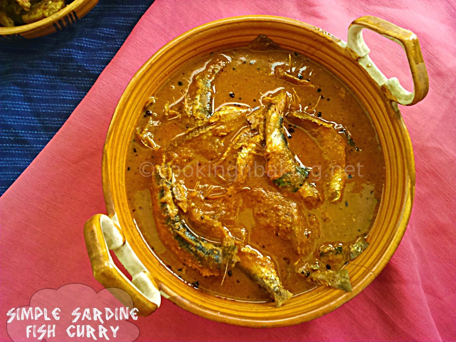 Simple Sardine Fish Curry