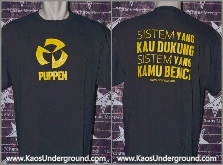 band PUPPEN bandung Kaosunderground.com hardcore SevenChaos Merch Gildan Riotic