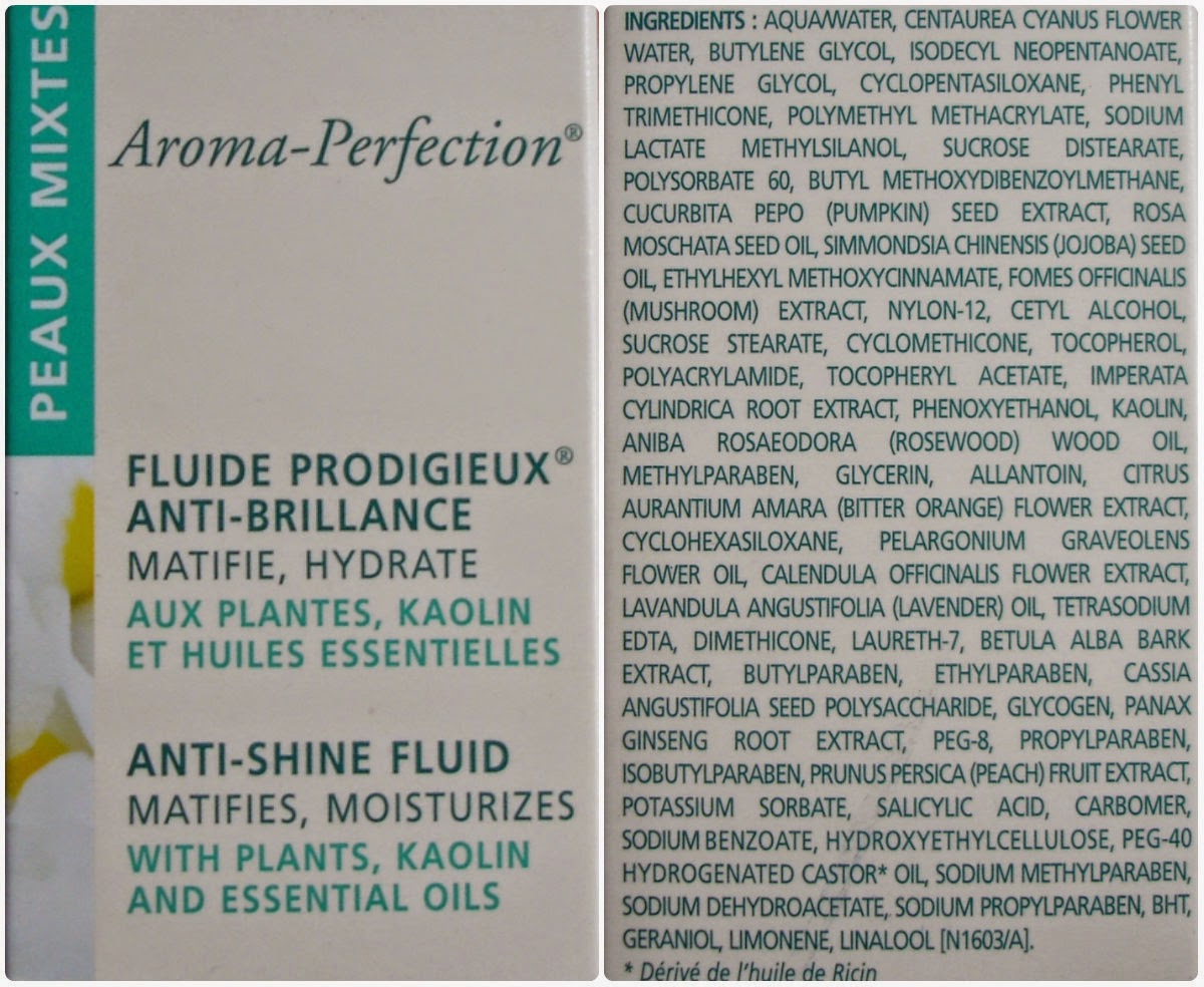 Nuxe Aroma-Perfection Anti-Shine Fluid состав