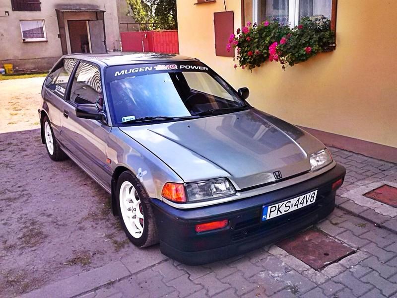 Honda Civic IV hatchback, popularny model, valokuvat, samochody z lat 80 i 90, znane auta, VTEC, zdjęcia