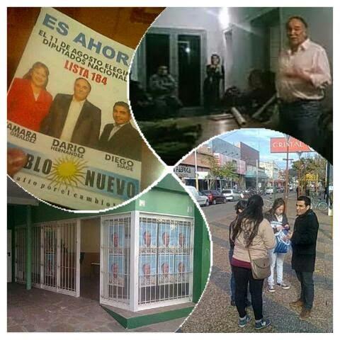Campaña 2013 de candidatos a diputados nacionales