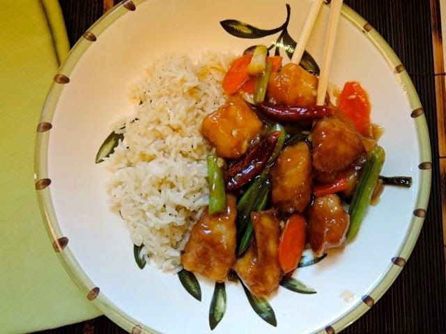 The Briny Lemon: Easy, Lighter General Tso's Chicken