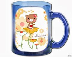 tasse à tisane dessin offert par Magali