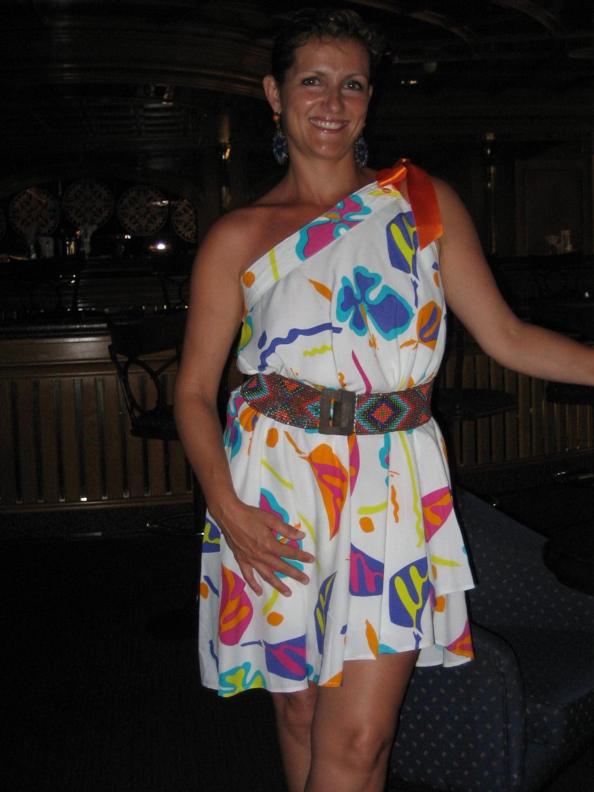 Como convertir una falda larga en vestido
