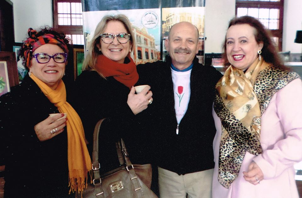 Vera Martinez , Lúcia Gomes e Marcia Mello