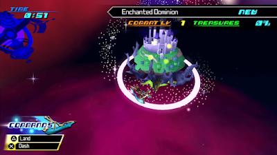 Kingdom Hearts Birth By Sleep World Map Screen
