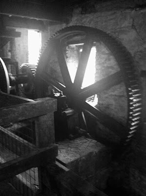Stitch and Bear - Old gears at the Old Kilbeggan Distillery