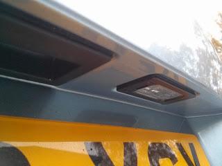 VW Passat Estate (B6 2007) Tailgate showing new light holder design on replacement