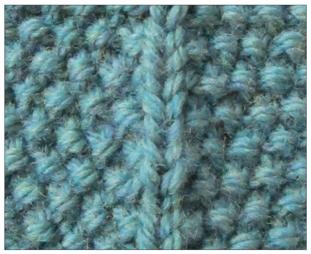 How To Increase Stitches In Knitting Continental : TECHknitting: Increasing in seed stitch (and decreasing in seed stitch, too!)