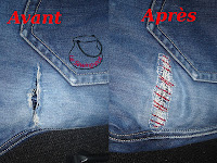 jean reparer repair before after avant après
