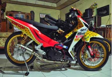 Modifikasi Karisma 125 D Road Race