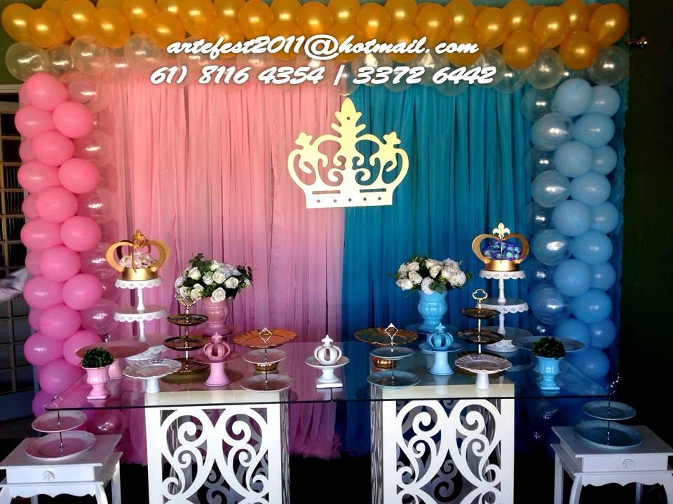 Famosos ARTEFEST - DECORAÇÃO DE FESTAS EM GERAL : Príncipe e Princesa - Gêmeos TM04