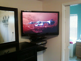TV installers Tampa bay Orlando Clearwater service Wall mount LCD in corner on Wall