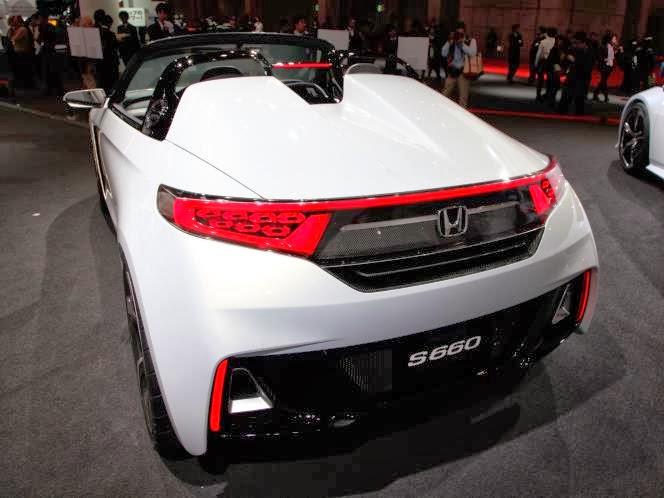 hondayes honda s660 concept stars at the tokyo motor show. Black Bedroom Furniture Sets. Home Design Ideas
