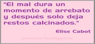 frases de Elise Cabot